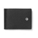 Etui za kartice s kopčom za novčanice Cashmere, crni